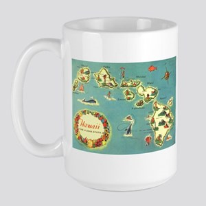 Hawaiian Islands Large Mug