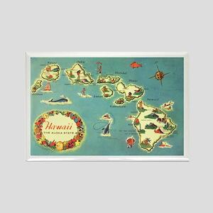 Hawaiian Islands Rectangle Magnet