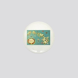 Hawaiian Islands Mini Button