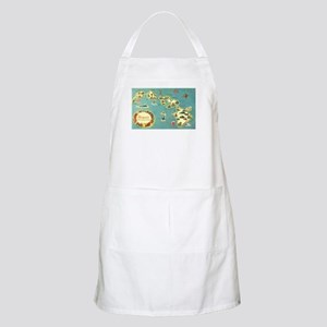 Hawaiian Islands BBQ Apron