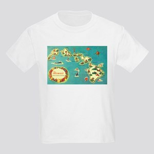 Hawaiian Islands Kids Light T-Shirt