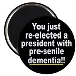 Dementia Anti-Bush Magnet (10 pk)