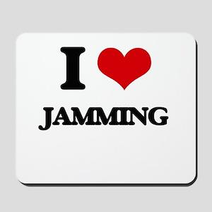 I Love Jamming Mousepad