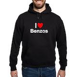 Benzo Dark Hoodies