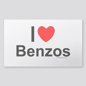 Benzos Sticker (Rectangle)