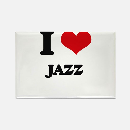 I Love Jazz Magnets