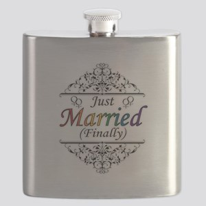 Just Married (Finally) Design Flask