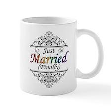 Just Married (Finally) Design Mug