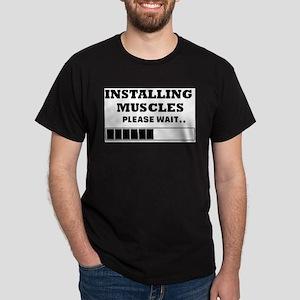 Installing Muscles - Loading Bar T-Shirt