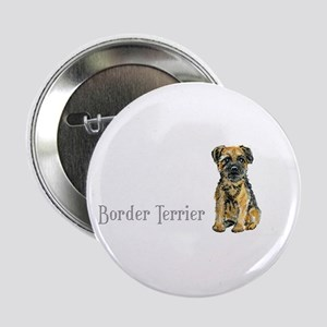 Border Terrier Button