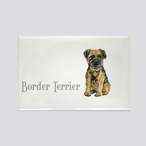 Border Terrier Rectangle Magnet