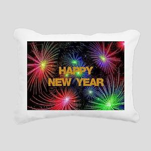 Happy New Year Rectangular Canvas Pillow