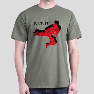 Kick It Dark T-Shirt
