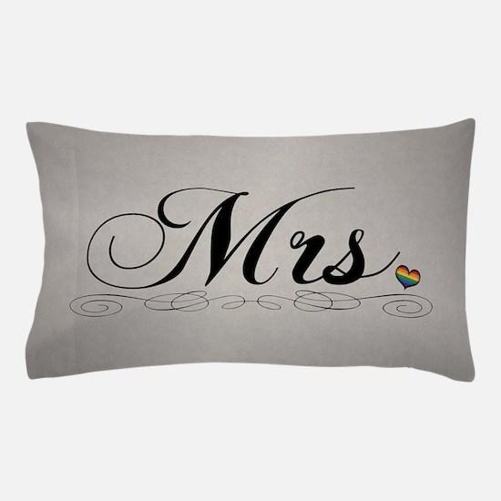 Mrs. Lesbian Design Pillow Case