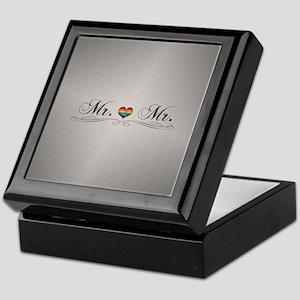 Mr. & Mr. Gay Design Keepsake Box