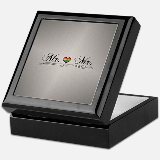 Mr. & Mr. Gay Design Keepsake Box