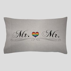 Mr. & Mr. Gay Design Pillow Case