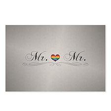Mr. & Mr. Gay Design Postcards (Package of 8)