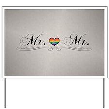 Mr. & Mr. Gay Design Yard Sign