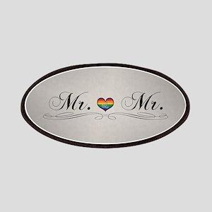 Mr. & Mr. Gay Design Patch