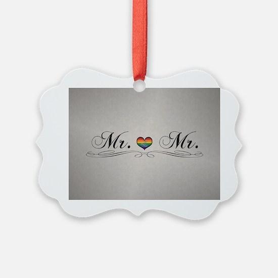 Mr. & Mr. Gay Design Ornament