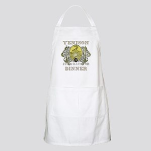 Venison its whats for dinner BBQ Apron