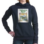 Nessie Believe Women's Hooded Sweatshirt