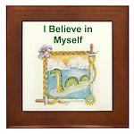 Nessie Believe Framed Tile