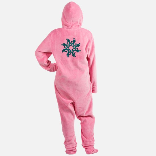 Funny Trail Footed Pajamas