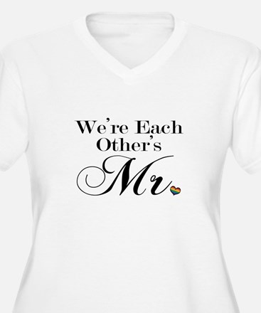 We're Each Other's Mr. Plus Size T-Shirt