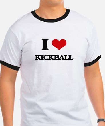 I Love Kickball T-Shirt
