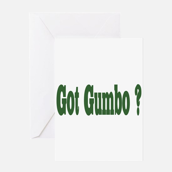 Got Gumbo Greeting Cards