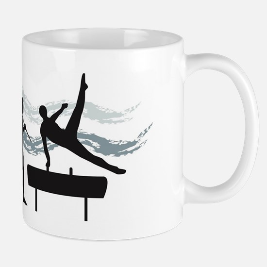 Evolution Gymnast Mug