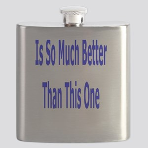 My Imaginary Life Flask