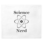 Science Nerd King Duvet