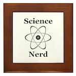 Science Nerd Framed Tile