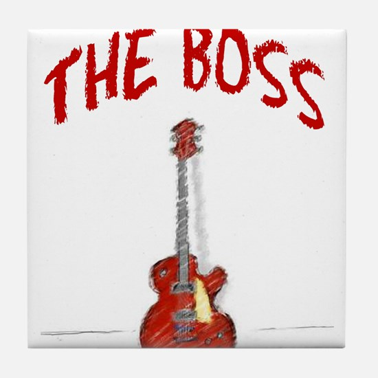 The Boss, Guitar Tile Coaster