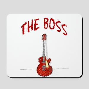 The Boss, Guitar Mousepad