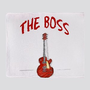 The Boss, Guitar Throw Blanket