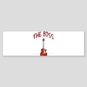 The Boss, Guitar Bumper Sticker