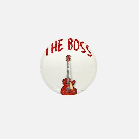 The Boss, Guitar Mini Button
