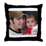 Soulee and Bill Throw Pillow