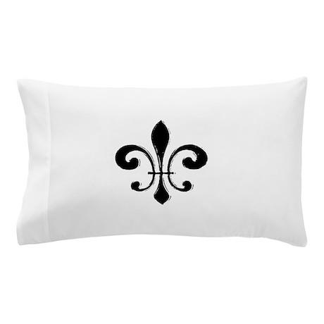 Black Fleur De Lis Pillow Case By Admincp154848