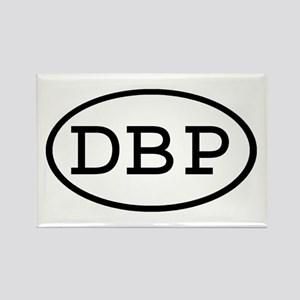 DBP Oval Rectangle Magnet