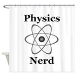 Physics Nerd Shower Curtain