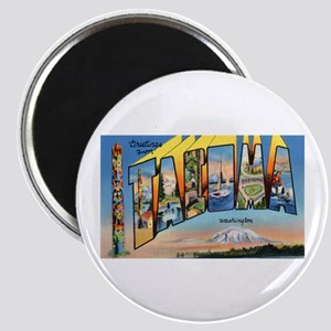 Tacoma Washington Greetings Magnet