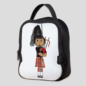 Bagpiper Neoprene Lunch Bag