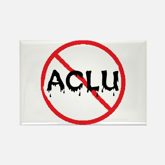 BAN ACLU Rectangle Magnet