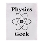 Physics Geek Throw Blanket