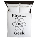Physics Geek Queen Duvet
